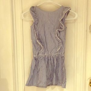 Nautica girls romper new with tag size 5